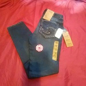 Mid super skinny jeans